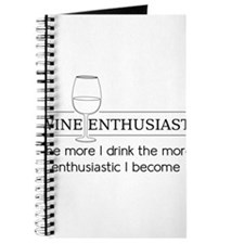 Wine Enthusiast The more I drink the more enthusia