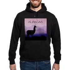Unique Alpaca art Hoodie