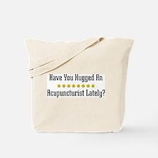 Hugged Acupuncturist Tote Bag