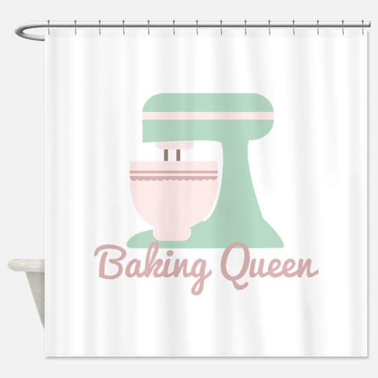Baking Queen Shower Curtain