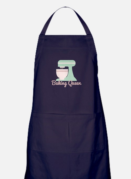 Baking Queen Apron (dark)