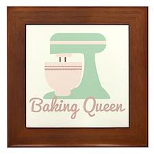 Baking Queen Framed Tile