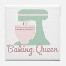 Baking Queen Tile Coaster