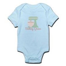 Baking Queen Body Suit