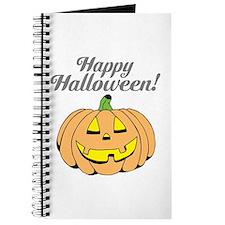 Jack o lantern pumpkin face carving Journal