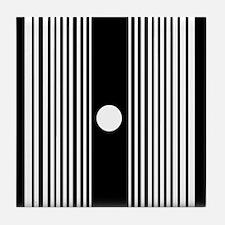 The Doppler Effect Tile Coaster