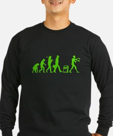 Funny - ZOMBIE Evolution Long Sleeve T-Shirt