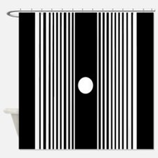 The Doppler Effect Shower Curtain
