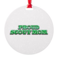 Proud Scout Mom Ornament