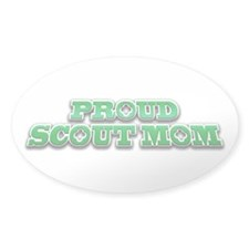 Proud Scout Mom Decal