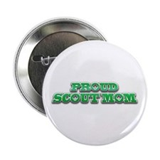 """Proud Scout Mom 2.25"""" Button (10 pack)"""