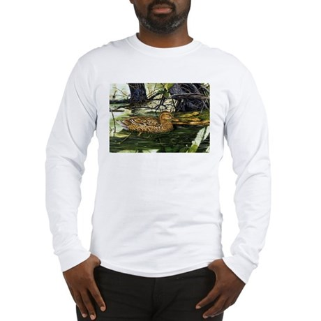 Mallard on the River Long Sleeve T-Shirt