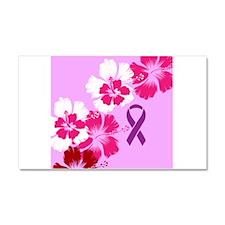 Awareness Fibroid Car Magnet 20 x 12