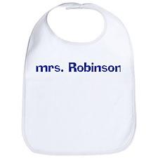 mrs. Robinson Bib