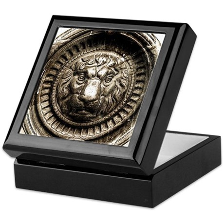 Decorative Lion Keepsake Box