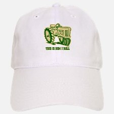 This Is How I Roll Tractor GRN Baseball Baseball Cap