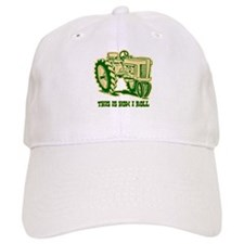 This Is How I Roll Tractor GRN Baseball Cap
