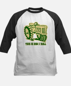This Is How I Roll Tractor GRN Tee