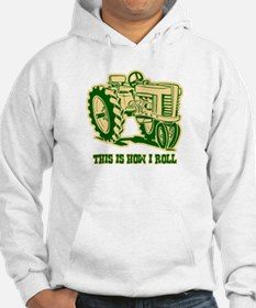 This Is How I Roll Tractor GRN Jumper Hoody