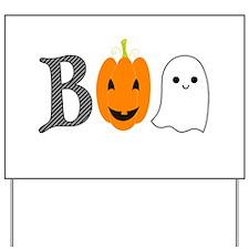 Boo Yard Sign