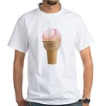 Perfect Summer - Pink White T-Shirt