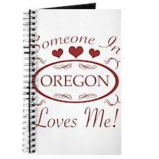 Somebody In Oregon Loves Me Journal