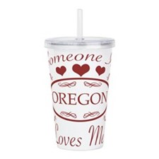 Somebody In Oregon Lov Acrylic Double-wall Tumbler