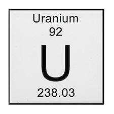 Periodic Table Of Elements Uranium Drink CoastersUranium Periodic Table