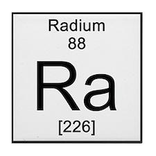 Periodic Table Radium Tile Coaster