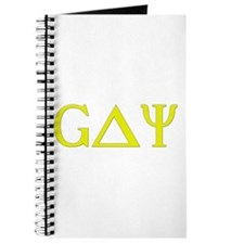 Gay (Greek Letters) Yellow Journal