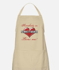 Somebody In Pennsylvania Loves Me Apron