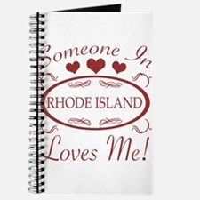 Somebody In Rhode Island Loves Me Journal