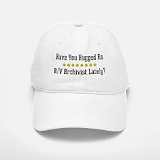 Hugged A/V Archivist Baseball Baseball Cap