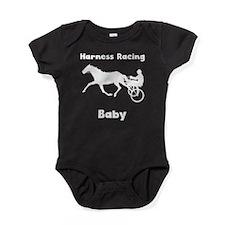 Harness Racing Baby Baby Bodysuit