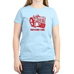 This Is How I Roll Tractor RED Women's Light T-Shi