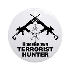 Homegrown Terrorist Ornament (Round)