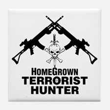 Homegrown Terrorist Tile Coaster
