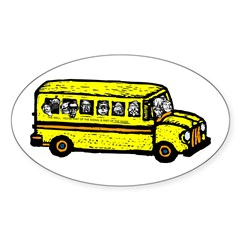 WELL Bus Oval Decal