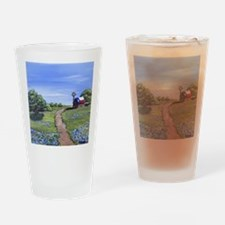 Texas Trail Drinking Glass