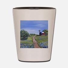 Texas Trail Shot Glass