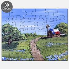 Texas Trail Puzzle