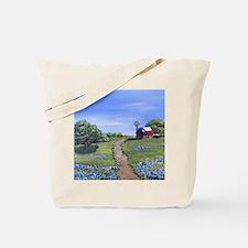 Texas Trail Tote Bag