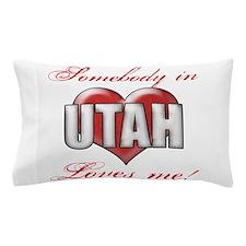 Somebody In Utah Loves Me Pillow Case