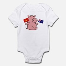 AUSTRALIA AND VIETNAM Infant Bodysuit