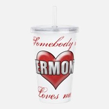 Somebody In Vermont Lo Acrylic Double-wall Tumbler