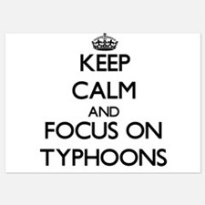 Keep Calm by focusing on Typhoons Invitations