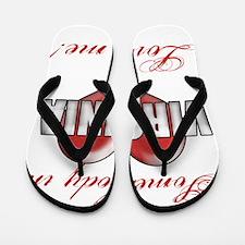 Somebody In Virginia Loves Me Flip Flops