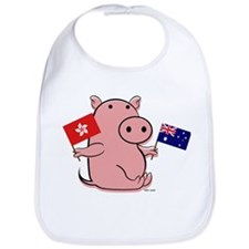 AUSTRALIA AND HONG KONG Bib