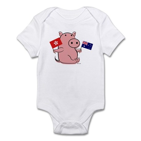AUSTRALIA AND HONG KONG Infant Bodysuit
