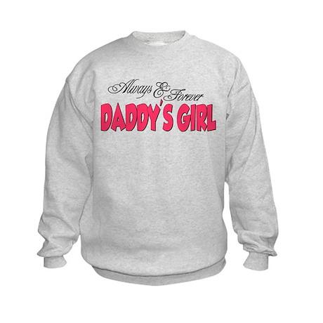 Always & Forever Daddy's Girl Kids Sweatshirt